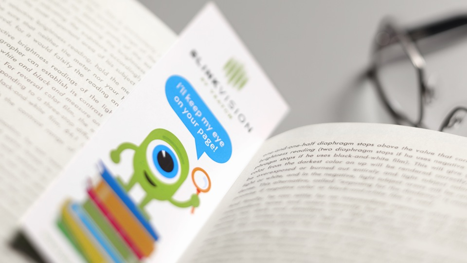 Blink Vision Bookmark