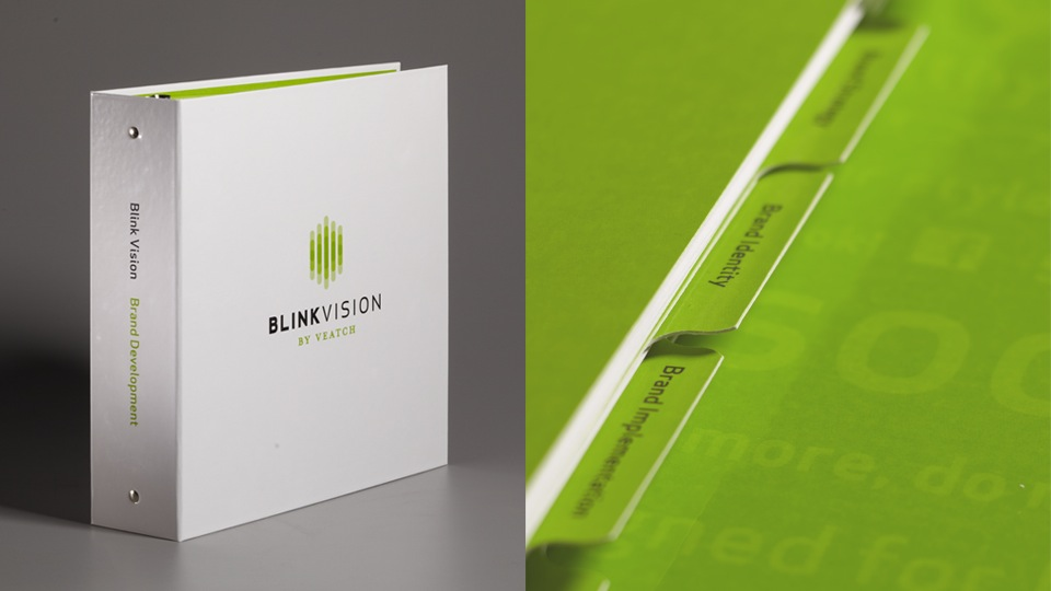 Blink Vision Brand Development