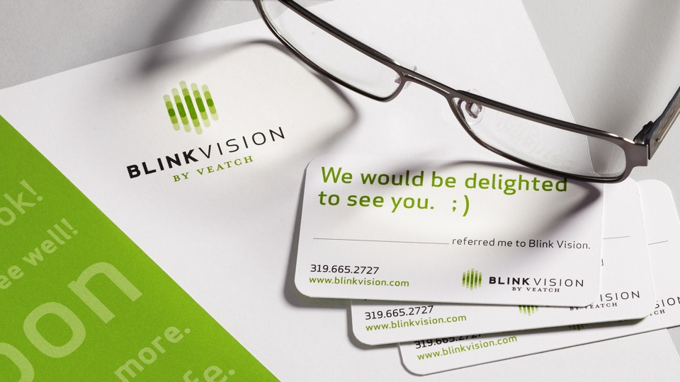 Blink Vision Stationery