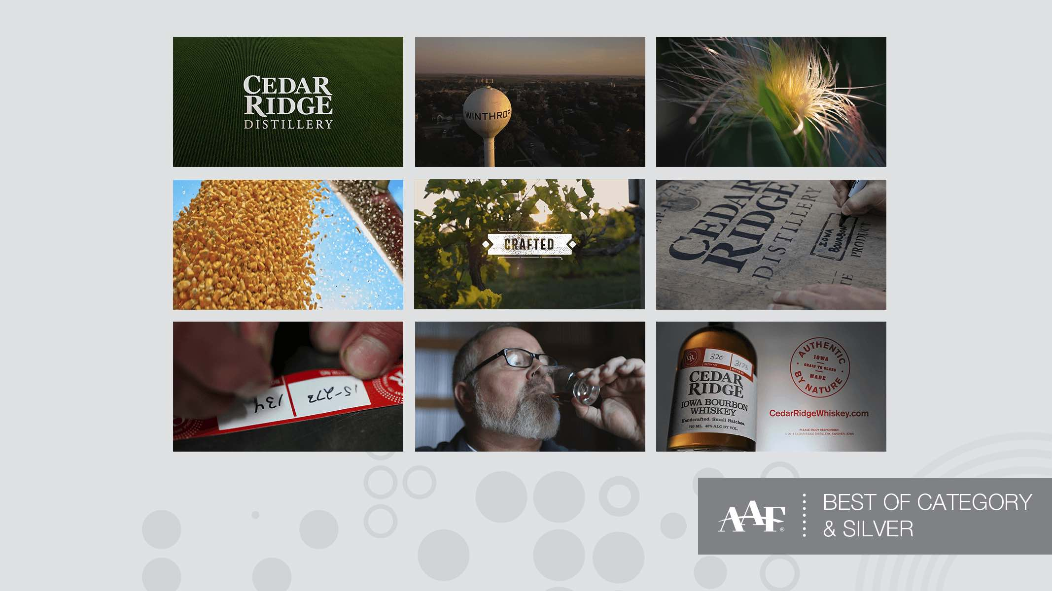 Cedar Ridge video AAF award video