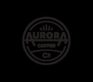Aurora coffee co logo