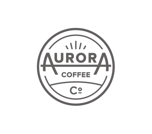 Aurora coffee co logo