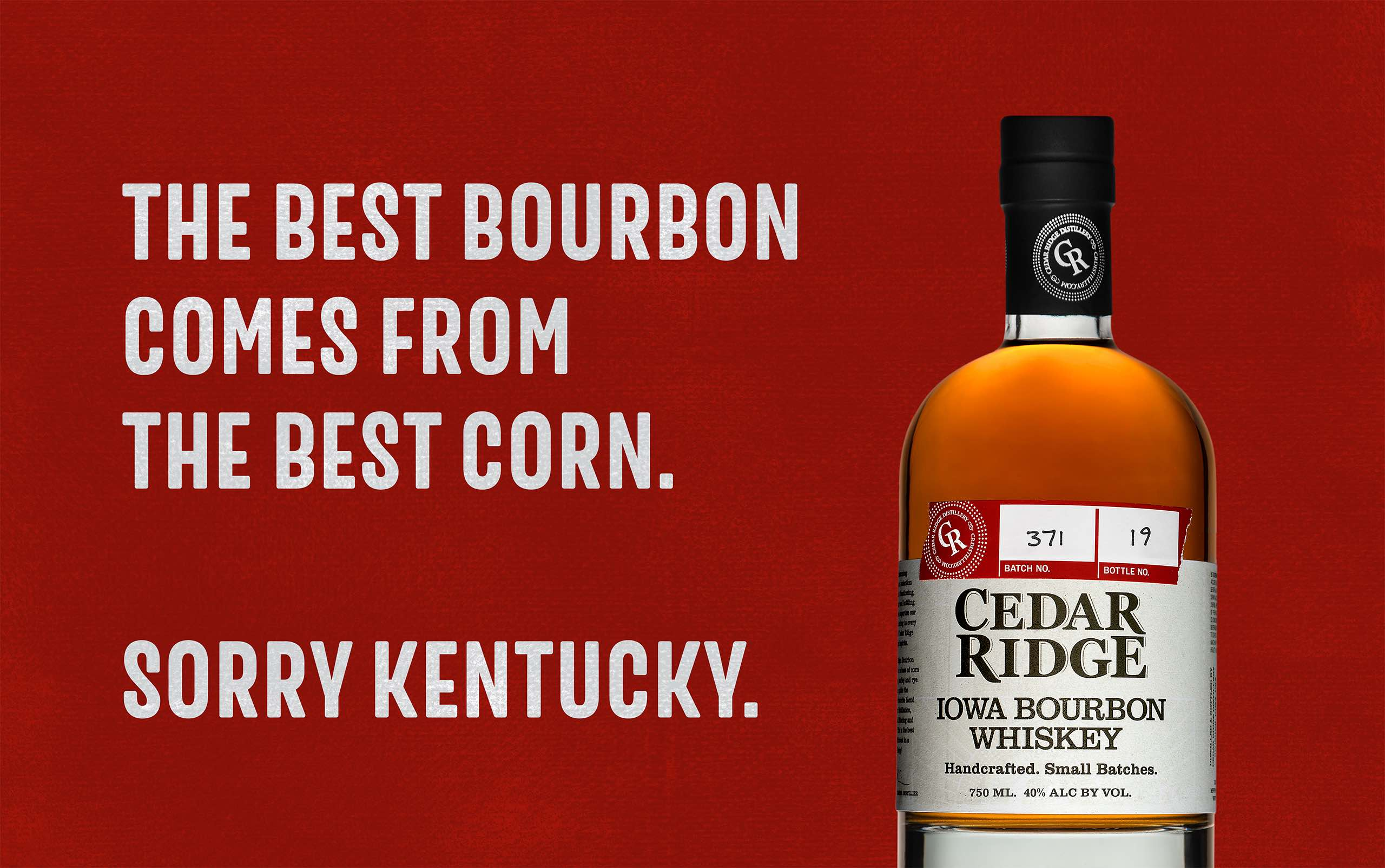 Cedar Ridge Sorry Kentucky ad