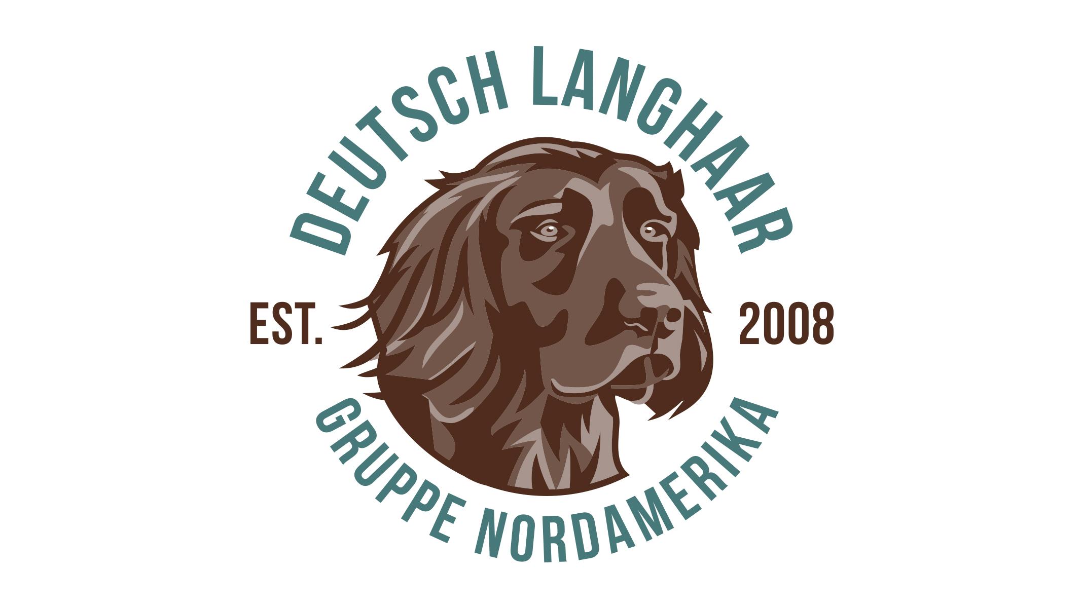 Deutsch Langhaar Gruppe Nordamerika logo