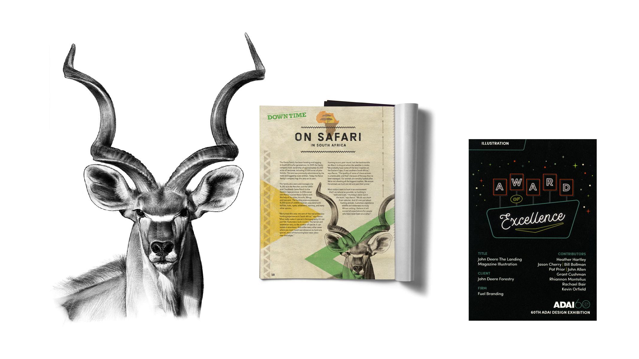 fuel branding kadu illustration for john deere's the landing