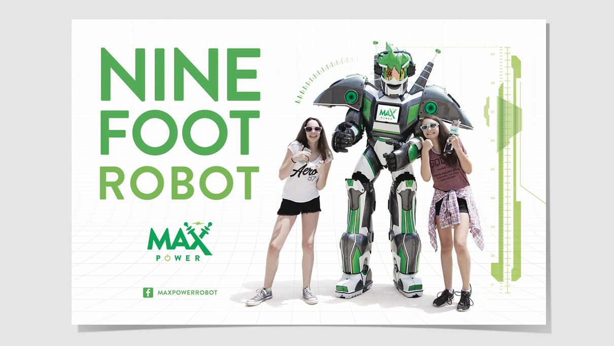 Max Power promotional poster