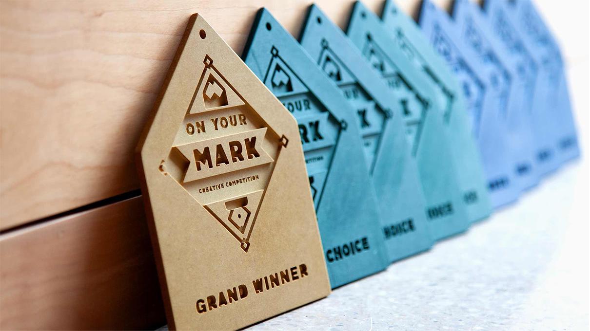 On Your Mark design awards