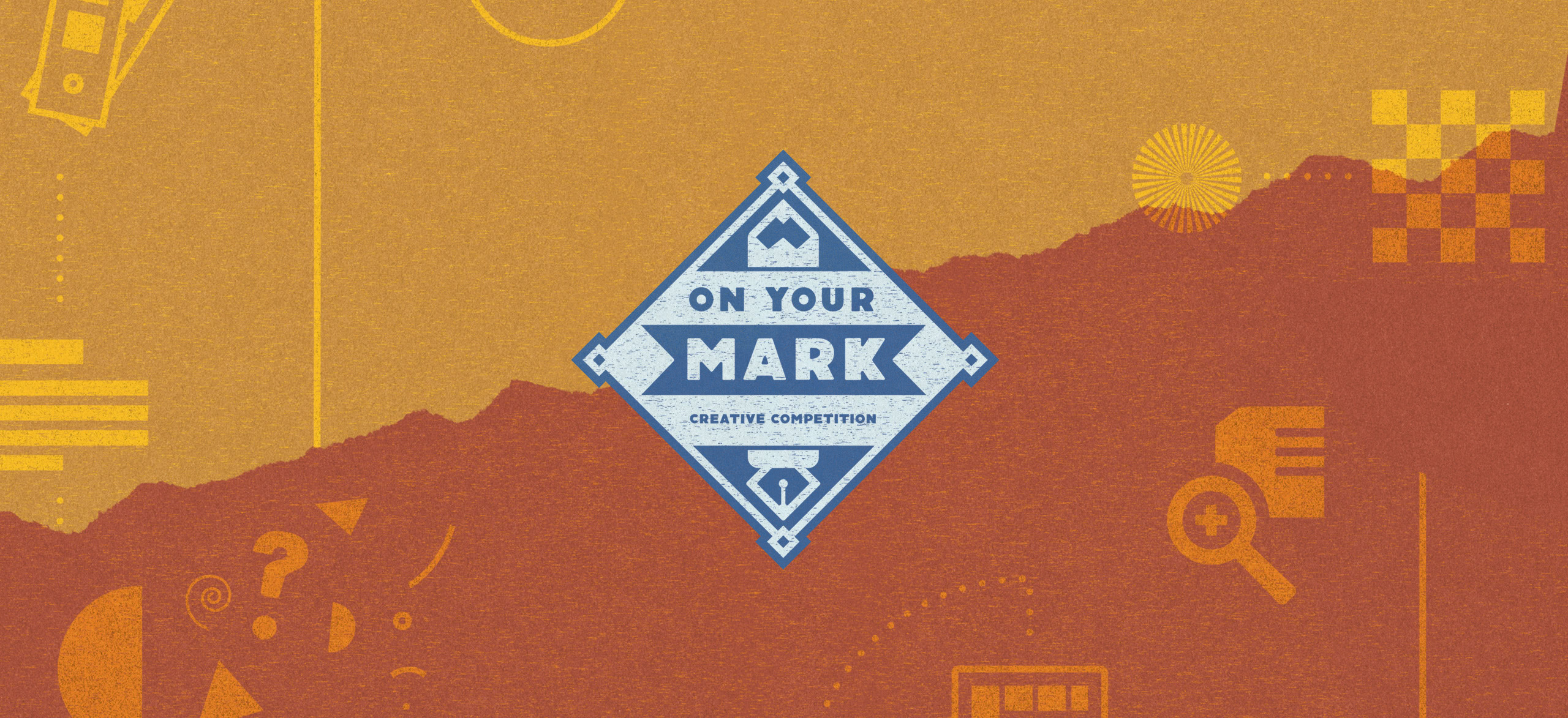 On Your Mark event logo