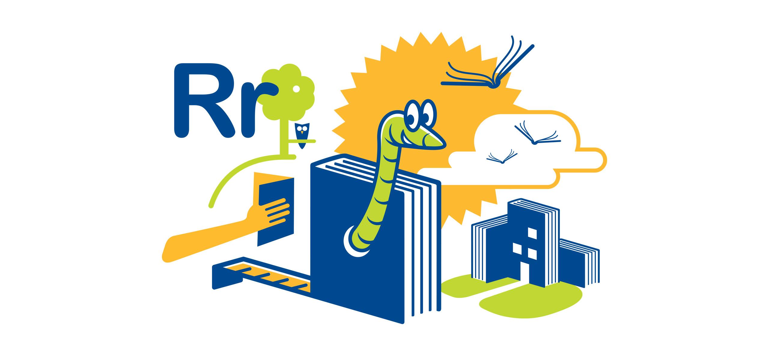 Cedar Rapids Library Readers Rebuild illustration