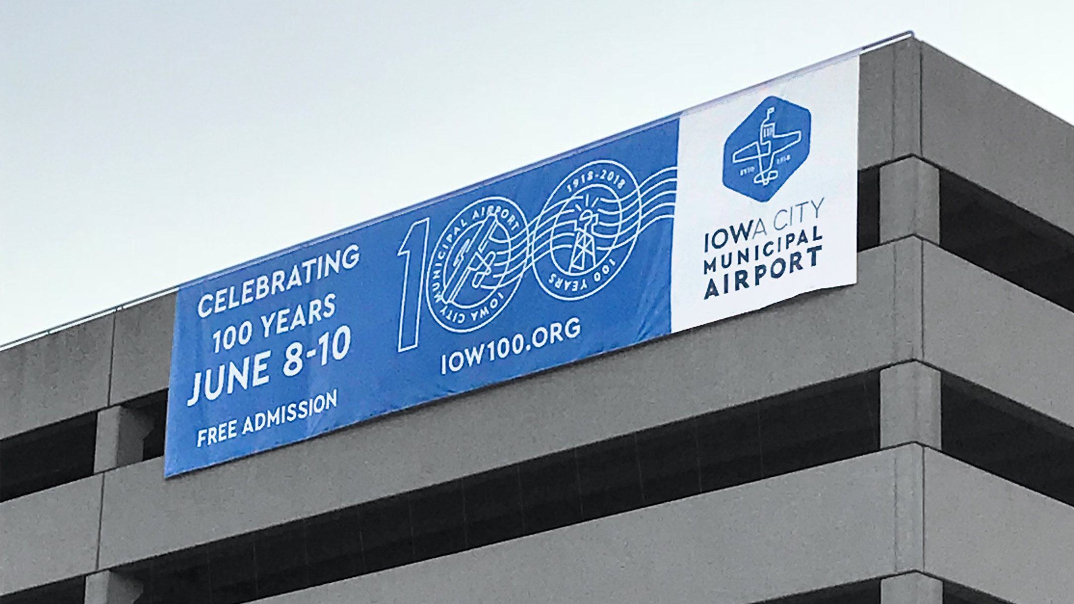 Event banner created for IOW100