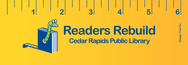 Readers Rebuild bookmark image